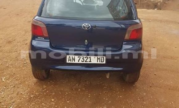 Acheter Occasions Voiture Toyota Yaris Bleu à Bamako au Mali