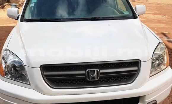 Acheter Occasions Voiture Honda Pilot Blanc à Bamako au Mali