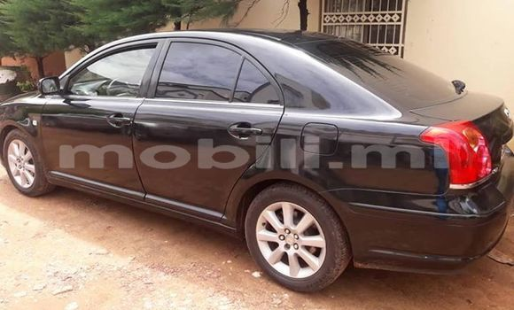 Acheter Occasions Voiture Toyota Avensis Noir à Bamako au Mali