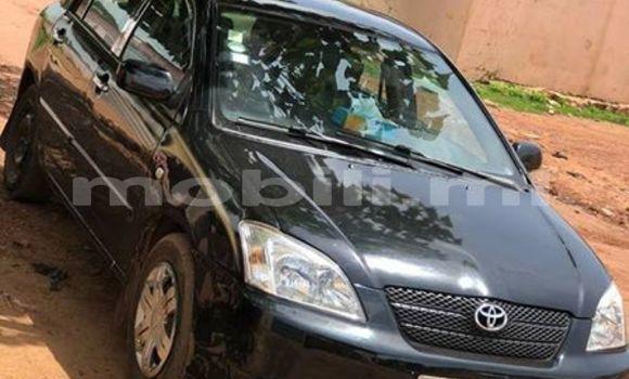 Acheter Occasions Voiture Toyota Corolla Noir à Bamako au Mali