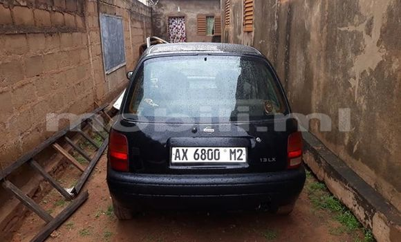 Acheter Occasion Voiture Nissan Micra Noir à Bamako, Mali