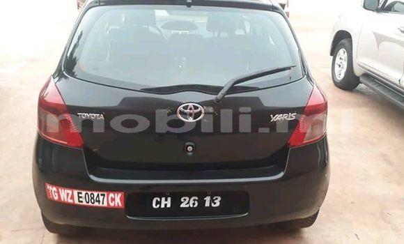 Acheter Occasions Voiture Toyota Yaris Noir à Bamako au Mali