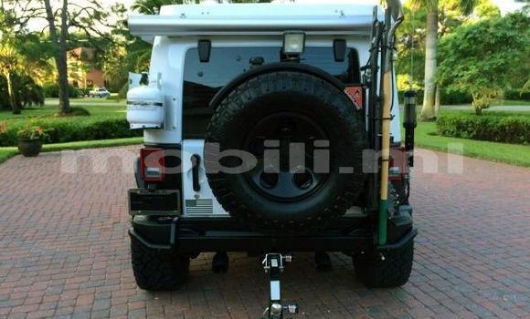 Acheter Occasion Voiture Jeep Wrangler Blanc à Bamako, Mali