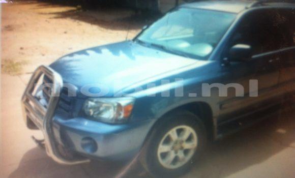 Acheter Occasions Voiture Toyota 4Runner Bleu à Bamako au Mali