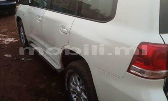 Acheter Occasion Voiture Toyota Land Cruiser Prado Blanc à Bamako, Mali