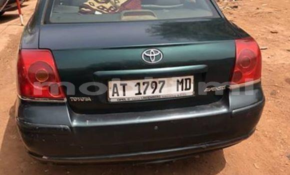 Sayi Na hannu Toyota Avensis Green Mota in Bamako a Mali