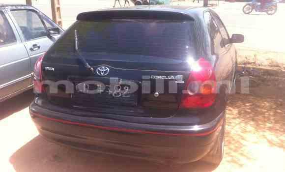 Acheter Occasion Voiture Toyota Corolla Noir à Ségou au Mali