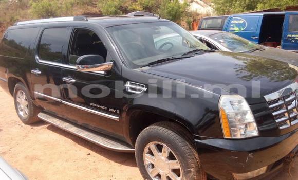 Acheter Occasion Voiture Cadillac Escalade Noir à Bamako au Mali