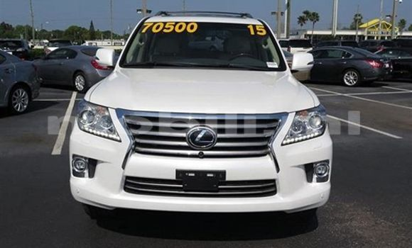 Acheter Occasions Voiture Lexus LX Blanc à Bamako au Mali