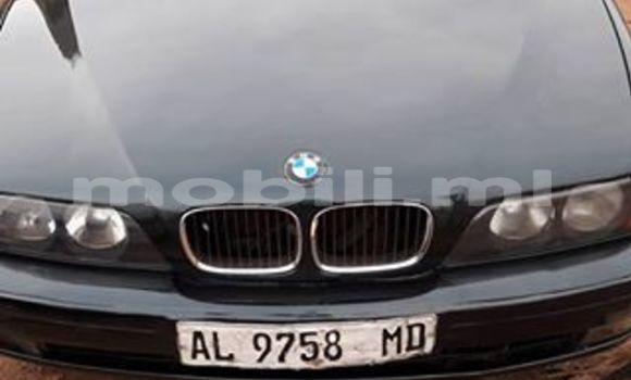 Acheter Occasion Voiture BMW 5-Series Noir à Bamako au Mali