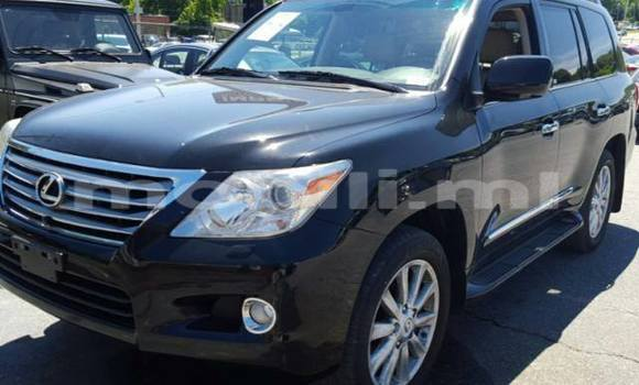 Acheter Occasion Voiture Lexus LX Noir à Bamako au Mali