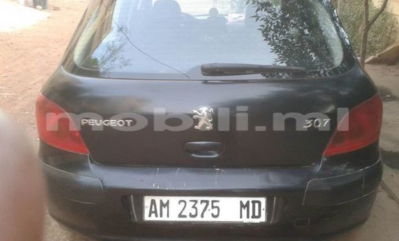 Acheter Occasion Voiture Peugeot 307 Noir à Bamako, Mali
