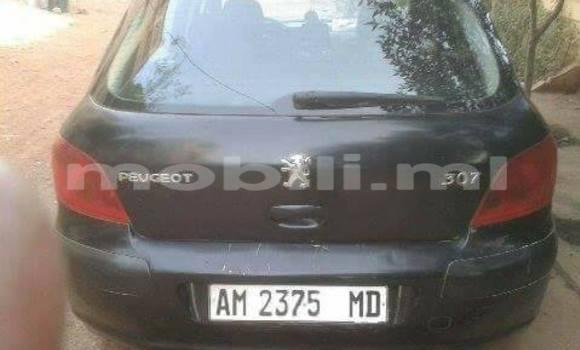 Acheter Occasion Voiture Peugeot 307 Noir à Bamako au Mali