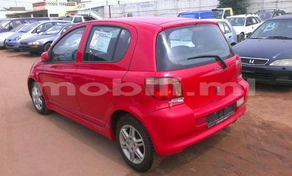 Acheter Occasion Voiture Toyota Yaris Rouge à Bamako au Mali