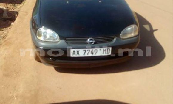 Acheter Occasion Voiture Opel Corsa Noir à Bamako au Mali