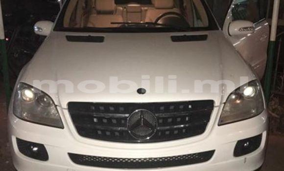 Acheter Occasions Voiture Mercedes‒Benz ML–Class Blanc à Bamako au Mali