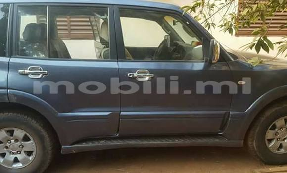 Acheter Occasion Voiture Mitsubishi Pajero Noir à Bamako au Mali