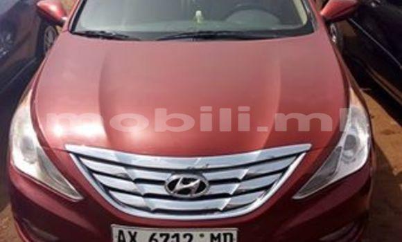 Acheter Occasion Voiture Hyundai Sonata Rouge à Bamako au Mali