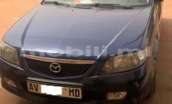 Buy Used Mazda 323 Blue Car in Bamako in Mali