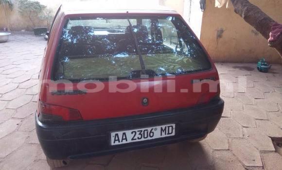 Acheter Occasion Voiture Peugeot 106 Rouge à Bamako au Mali