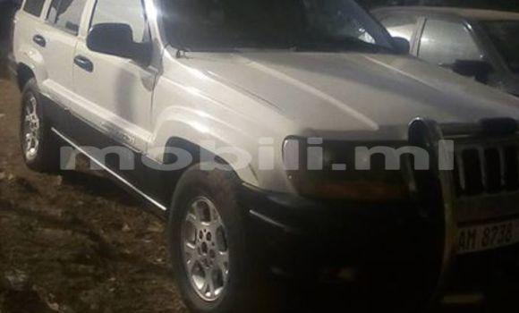 Acheter Occasion Voiture Jeep Grand Cherokee Blanc à Bamako, Mali