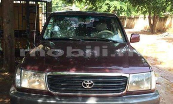 Acheter Occasion Voiture Toyota Land Cruiser Rouge à Bamako au Mali