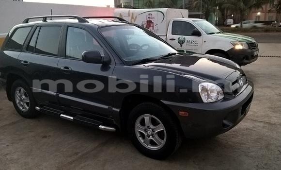 Acheter Occasion Voiture Hyundai Santa Fe Noir à Bamako au Mali