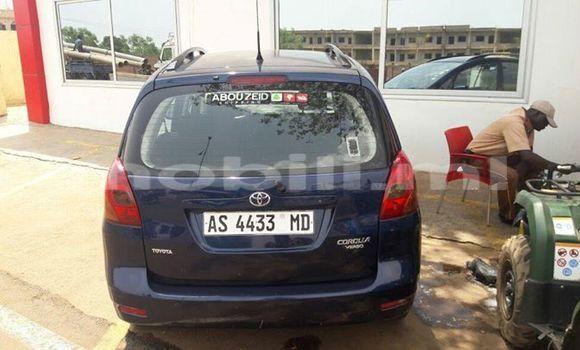 Sayi Na hannu Toyota Verso Blue Mota in Bamako a Mali