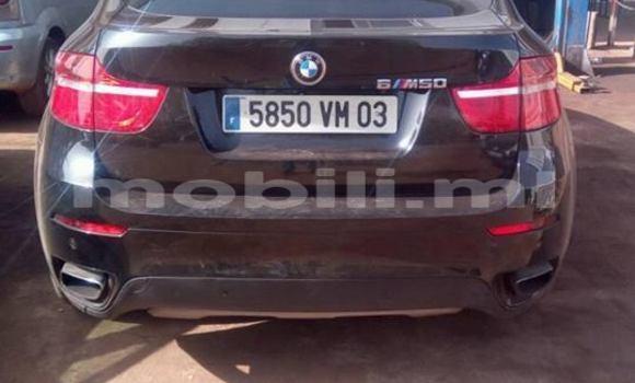 Acheter Occasion Voiture BMW X6 Noir à Bamako au Mali