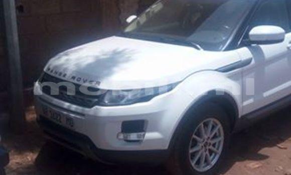 Acheter Occasion Voiture Land Rover Range Rover Evoque Blanc à Bamako au Mali
