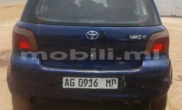 Acheter Occasion Voiture Toyota Yaris Bleu à Bamako, Mali