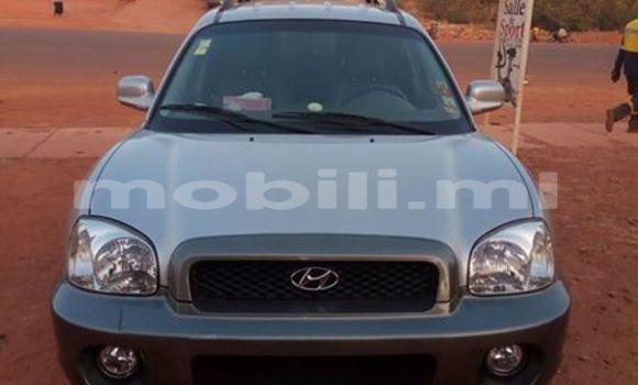 Acheter Occasion Voiture Hyundai Santa Fe Gris à Bamako au Mali