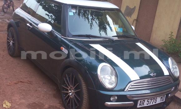 Acheter Occasion Voiture Mini Cooper Vert à Bamako, Mali