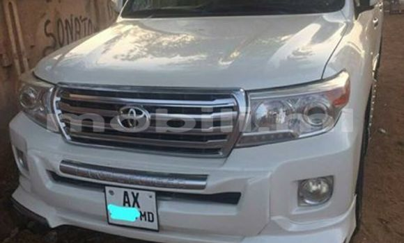 Acheter Occasion Voiture Toyota Land Cruiser Blanc à Bamako au Mali