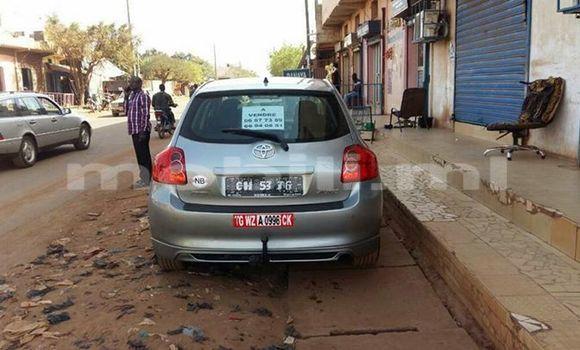 Acheter Occasion Voiture Toyota Auris Gris à Bamako, Mali