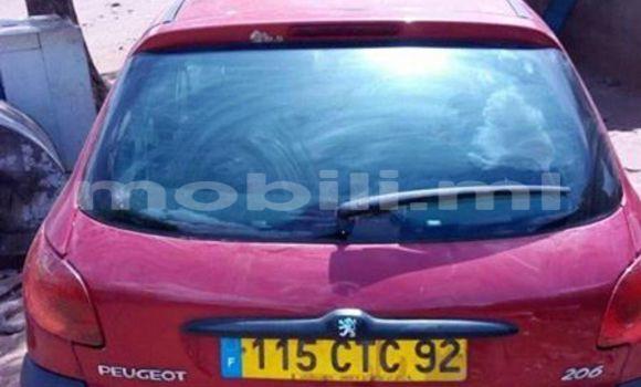 Acheter Occasion Voiture Peugeot 206 Rouge à Bamako au Mali