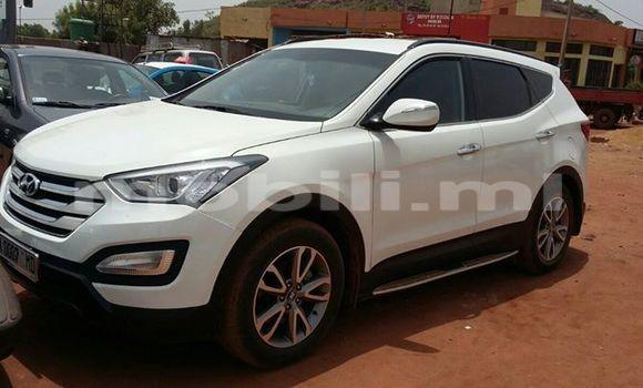 Acheter Occasion Voiture Hyundai Santa Fe Blanc à Bamako, Mali