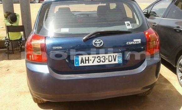 Acheter Occasions Voiture Toyota Corolla Bleu à Bamako au Mali