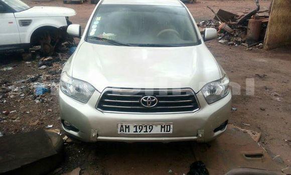 Acheter Occasion Voiture Toyota Highlander Gris à Bamako, Mali
