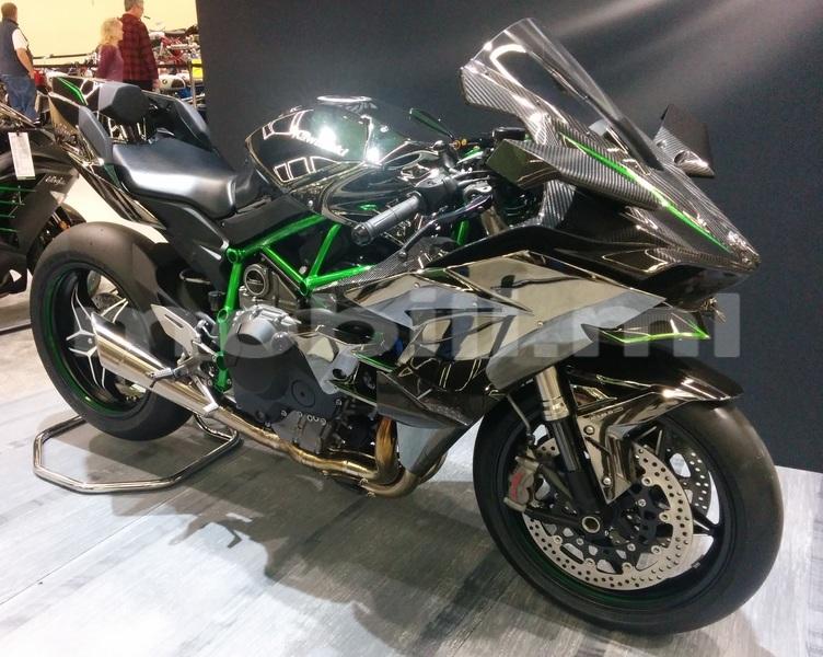 Big with watermark kawasaki ninja h2r seattle motorcycle show