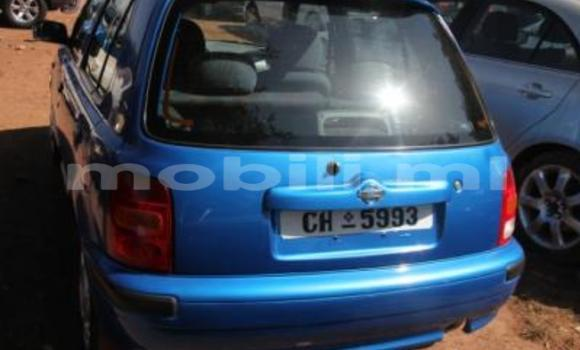 Acheter Occasion Voiture Nissan Micra Bleu à Bamako, Mali