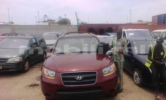 Acheter Occasion Voiture Hyundai Santa Fe Rouge à Bamako au Mali