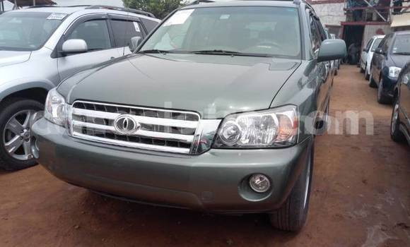 Acheter Occasion Voiture Toyota Highlander Gris à Bamako au Mali
