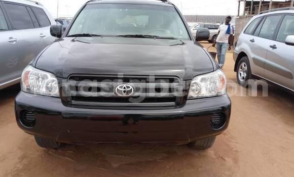Acheter Occasion Voiture Toyota Highlander Noir à Bamako au Mali