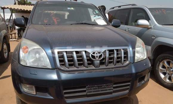 Acheter Occasion Voiture Toyota Land Cruiser Prado Bleu à Bamako au Mali