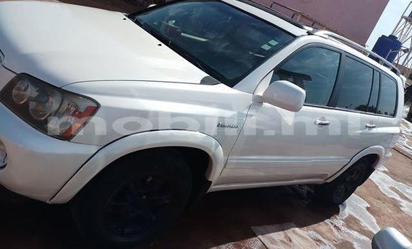 Acheter Occasion Voiture Toyota Highlander Blanc à Bamako au Mali