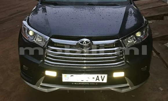 Acheter Occasion Voiture Toyota Highlander Noir à Bamako, Mali
