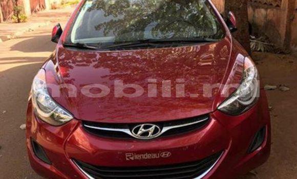 Acheter Occasion Voiture Hyundai Elantra Rouge à Bamako, Mali