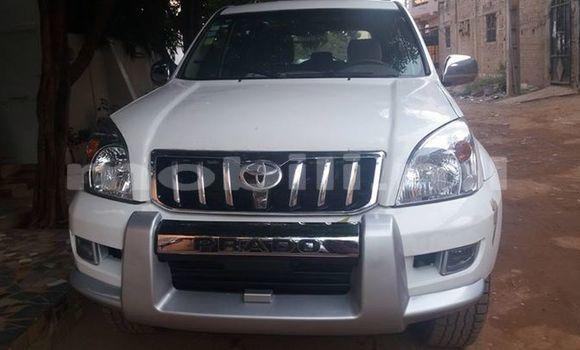 Acheter Occasion Voiture Toyota Prado Blanc à Bamako au Mali