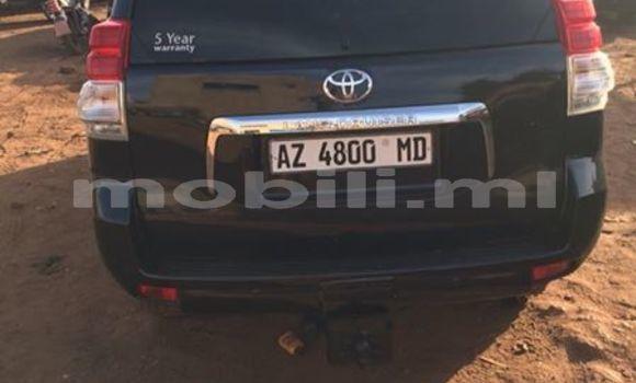 Acheter Occasion Voiture Toyota Land Cruiser Prado Noir à Bamako au Mali